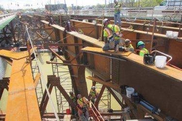 Bridge Steel Erection