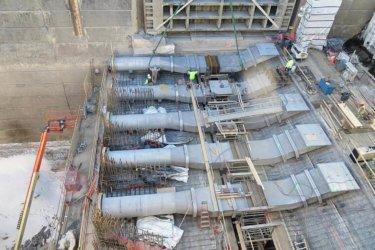 US DOT Fabricated Ice Flushing System