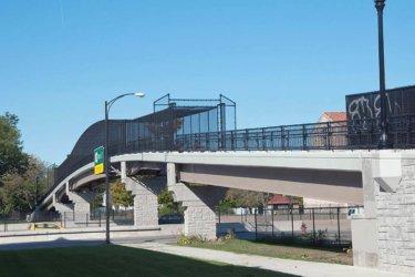 Fabricated Pedestrian Bridge