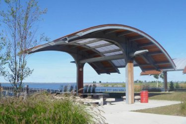 FCM Waterfront Canopy Structure
