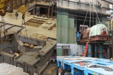 Arc Furnace Tip Platform & Generator Install