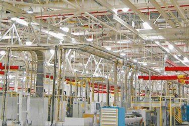 Manufacturing Plant Support Steel