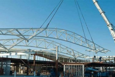 Airport Terminal Roof Truss