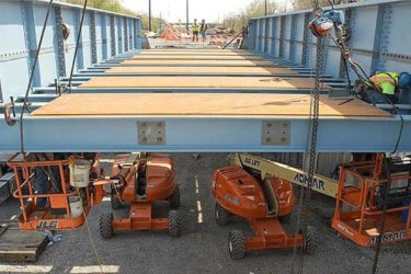 Bridge Steel Erection